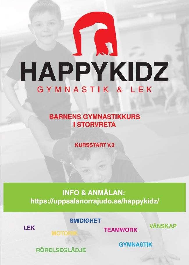 Evenemang Storvreta Happy Kidz