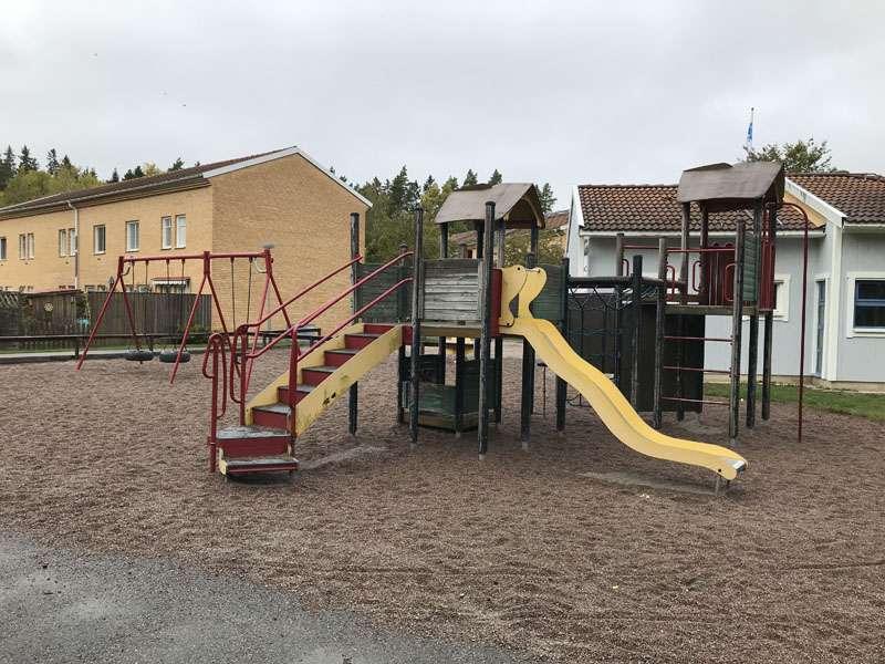 Himmelsvägens HGF lekplats i Storvreta