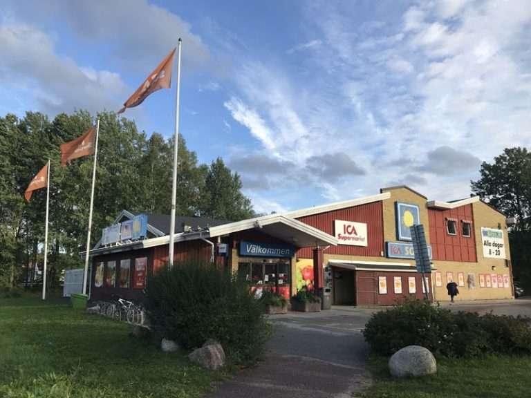 ICA supermarket lokal i Storvreta