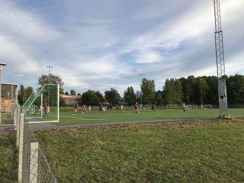 Ärentuna sporthall konstgräsplan i Storvreta
