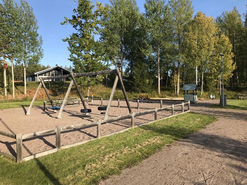 Motionsvägens lekplats i Storvreta