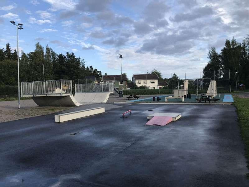 Parkourparken i Storvreta