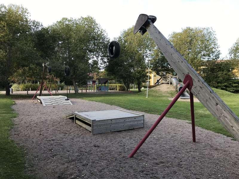 Solstrålevägens lekplats i Storvreta