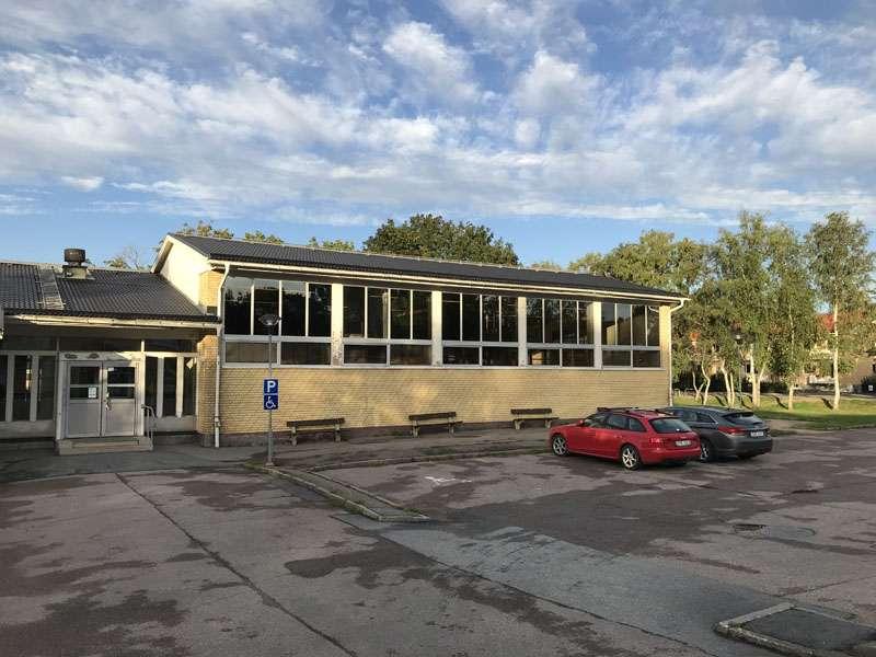 Storvretaskolans gymnastiksal i Storvreta