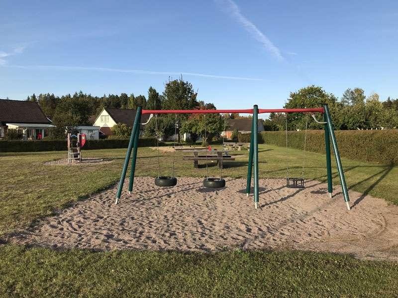 Tunnlandsvägens lekplats i Storvreta
