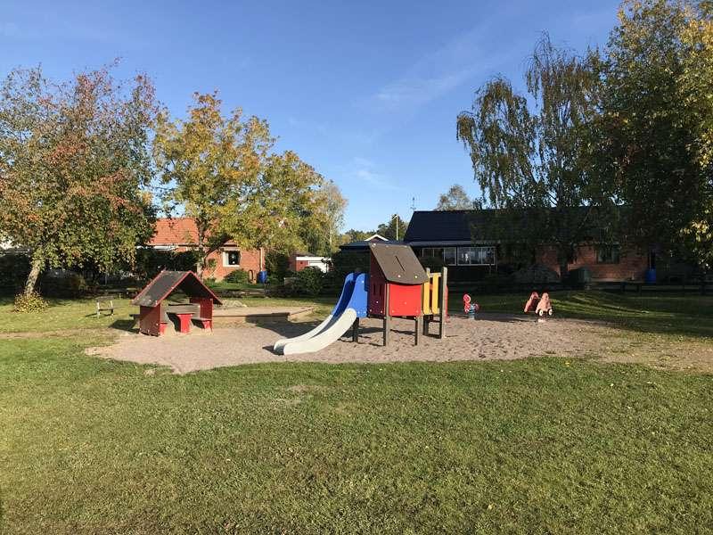 Vretalundsvägens lekplats i Storvreta