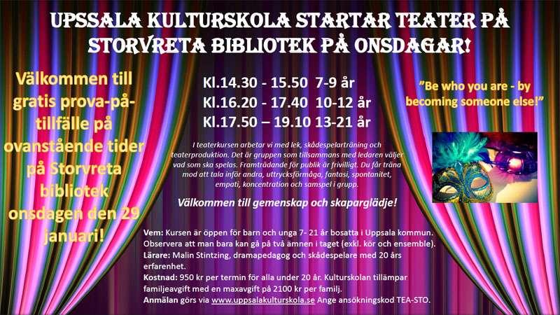 Evenemang Storvreta Kulturskola