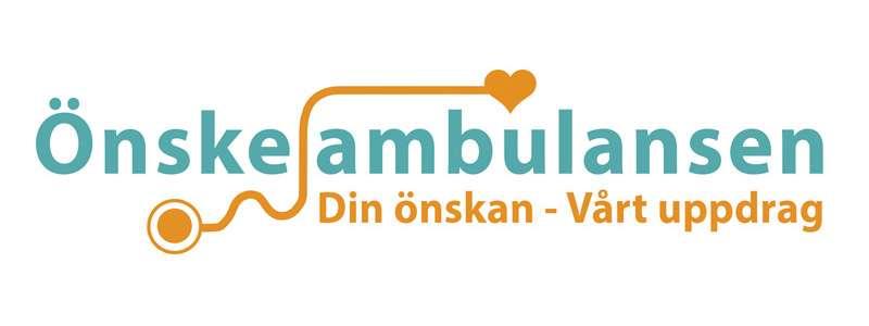 Logo för Önskeambulansen i Storvreta