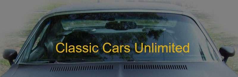 Logo för Classic Cars Unlimited i Storvreta