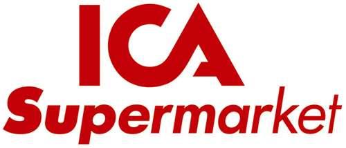Logo för ICA Supermarket i Storvreta