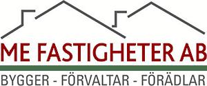 Logo för ME Fastigheter i Storvreta