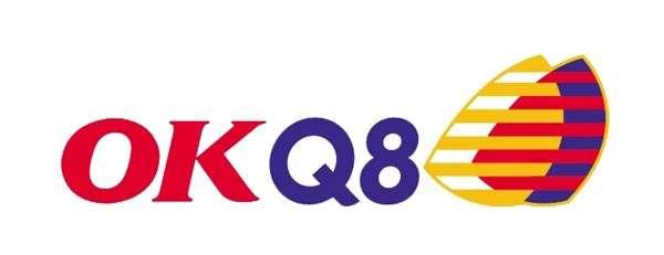 Logo för OKQ8 i Storvreta