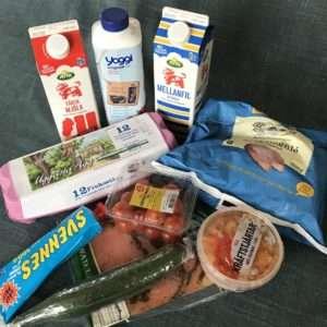 Utbud av matvaror