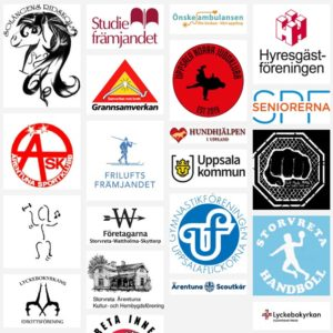 Logos för föreningar i Storvreta