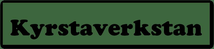 Logo för Kyrstaverkstan i Storvreta