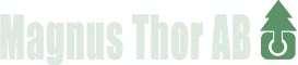 Logo för Magnus Thor AB i Storvreta