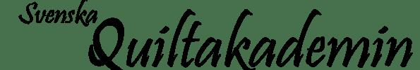 Logo för Svensk quiltakademin i Storvreta
