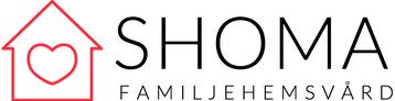 Logo för Shoma familjehemvård i Storvreta
