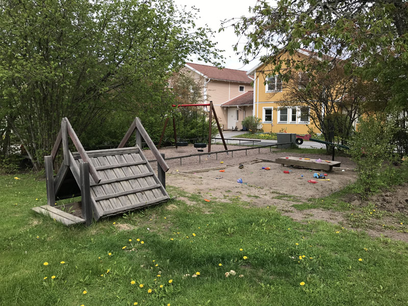 Lekplats på Stjärnvägen i Storvreta