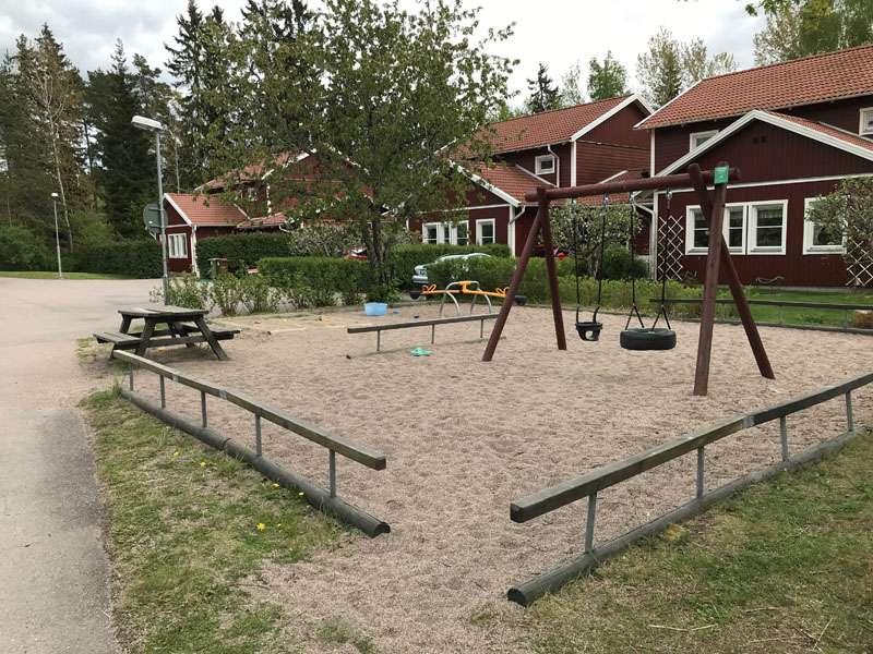 Lekplats på Vintergatsvägen i Storvreta