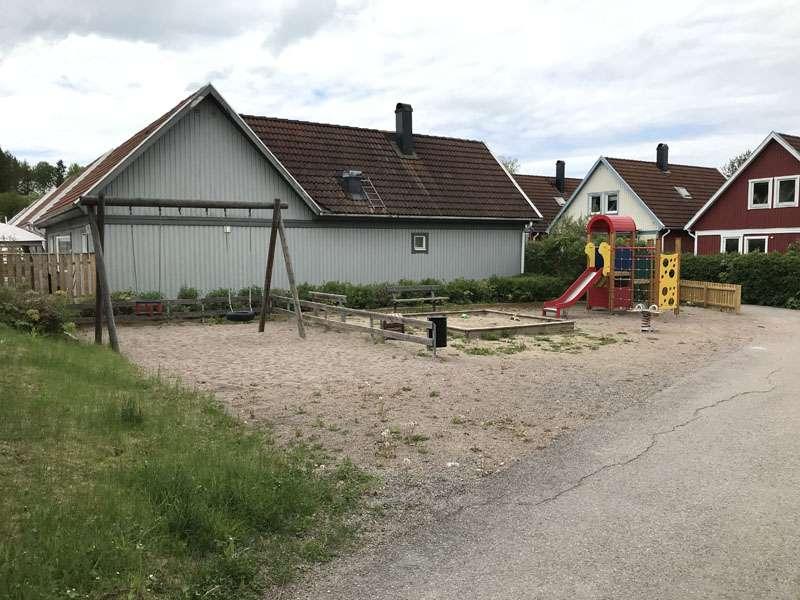 Lekplats på Skymningsvägen i Storvreta
