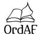 Logo för Ordaf Astrid Frylmark AB