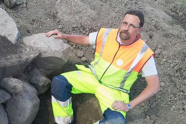 Arkeolog Joans Wikborg
